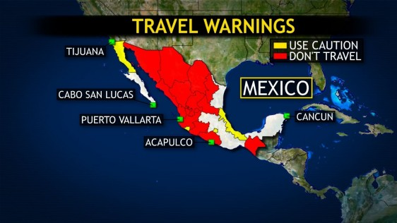 Travel Warning For Mexico Reissued After Us Citizen Killed