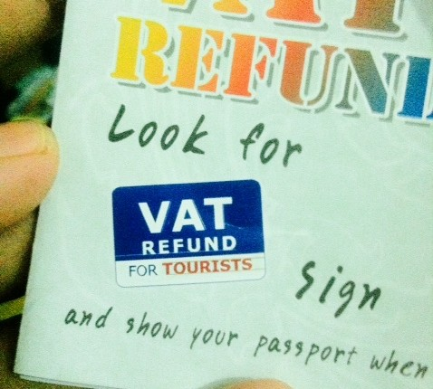 vat refund during your travel to thailand
