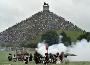 battle of waterloo re-enacted