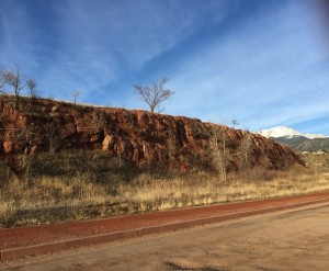 hiking photos - small hill on Red Rock Trail