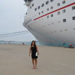 carnival cruise inspiration yuri sincero near boat