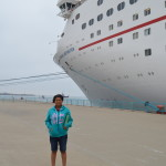 kid near carnival cruise inspiration