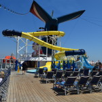 slide on carnival cruise